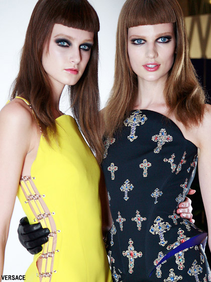 самые модные прически 2012
