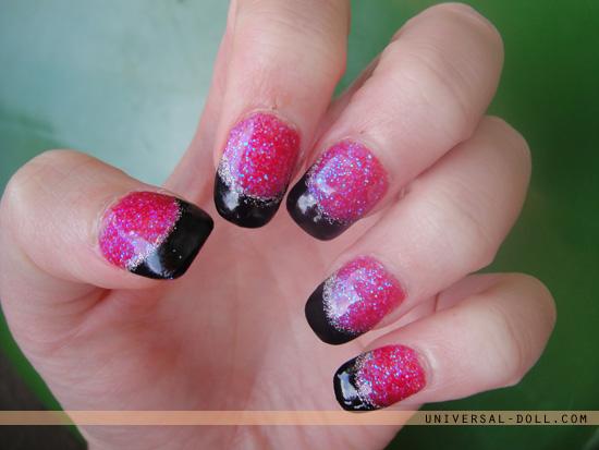 разноцветный дизайн ногтей фото