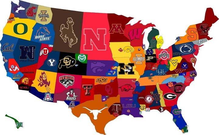 College Football Map Wise Guise Roundtable: 2012 College Football Preview, Pt. 1