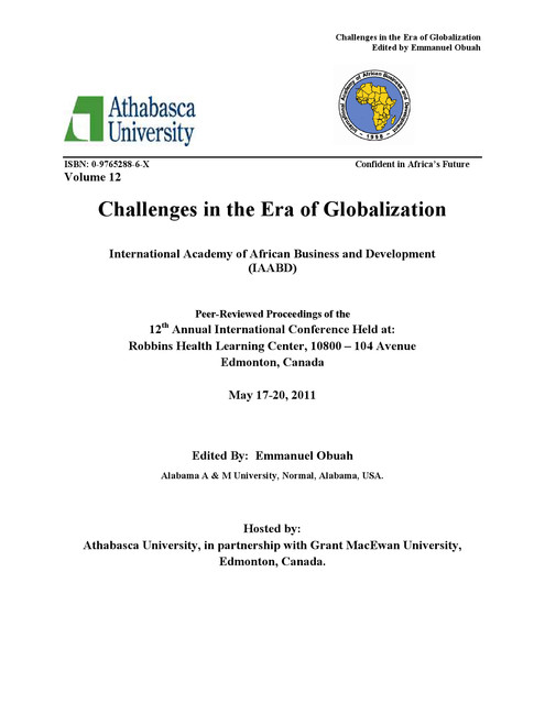Challenges in the Era of Globalization - iaabd