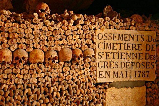 Parisian Catacombs – France
