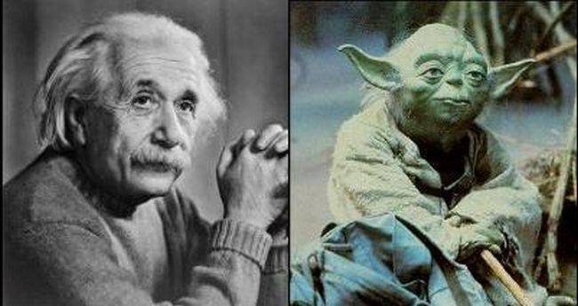 Yoda was Based on Albert Einstein