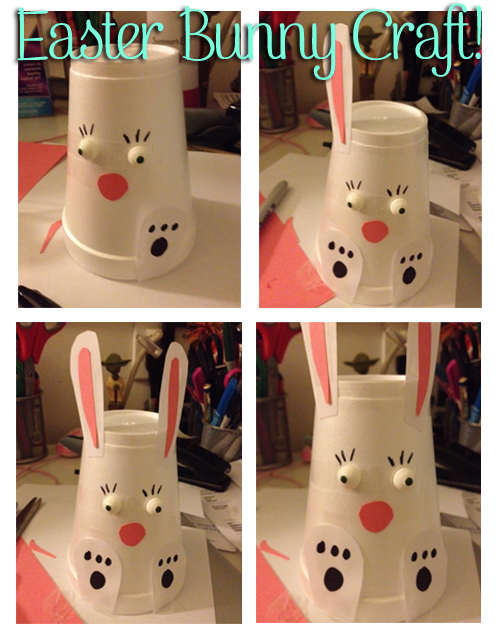 Paper Cup Bunny | Fun Easter Crafts For Kids To Do On The Homestead
