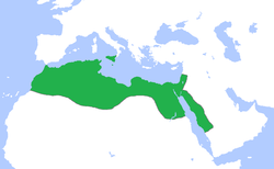 Carte historique de l'empire fatimide