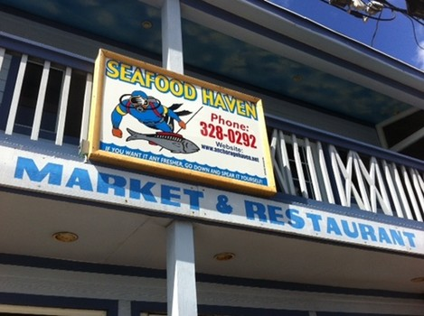 Fresh seafood, the Bahamian good life at Arawak Cay's Anchorage Haven
