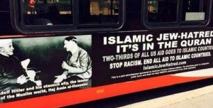 Media uproar over Jew-hatred bus ads