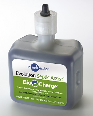 InSinkErator Evolution Septic Assist Bio Charge