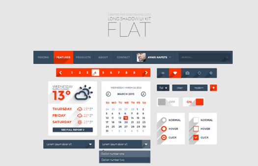70 Best Free Photoshop PSD UI Kits Wireframes for Web & Smartphone Apps