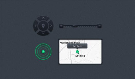 Map Control UI