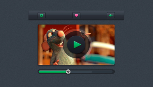 Video Player UI