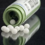 Homeopathic pills can be dissolved under the tongue or in water.