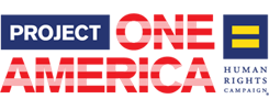 HRC Project One America logo