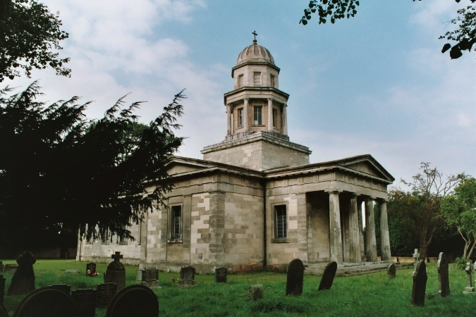 Exterior of Milton Mausoleum, Markham Clinton, Nottinghamshire. Photo by James Darwin. Not to be reproduced without permission.