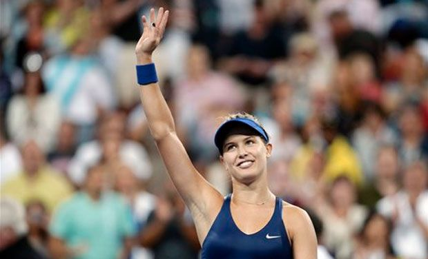 Seventh-seeded Eugenie Bouchard is the only woman in the top eight other than Serena Williams who remains in hunt for the US Open title. Photo: AP