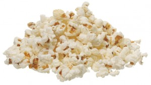 plain popcorn healthy snack