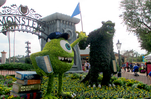 "Mike and Sully of Disney Pixar's ""Monsters Inc."""
