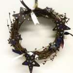 Rustic Stars Wreath