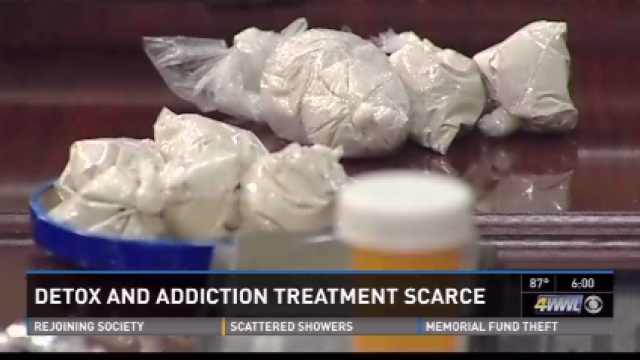Heroin detox and addiction treatment scarce in metro area