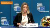 Mogherini, nuova lady Pesc: ''Sfide immani, sono grata per la nomina''