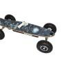 1500W Black Skullator Electric Skateboard