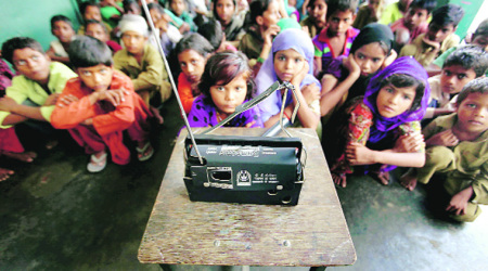 In Muzaffarnagar school, radio brings them closer to Modi