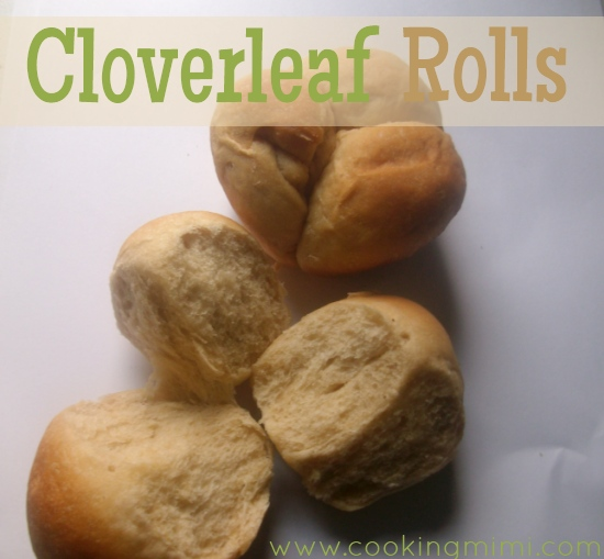 Cloverleaf Rolls- Fluffy wheat yeast rolls that are baked in a muffin tin. From www.cookingmimi.com/
