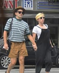 Scarlett Johansson is a mom