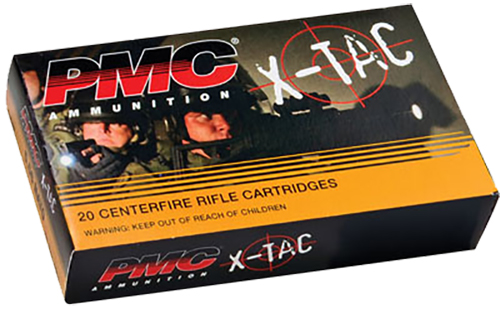 PMC 5.56X X-Tac 5.56 NATO Full Metal Jacket Boat-Tail 55 GR 20Box/50Case