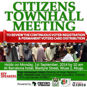 Citizens Townhall Meeting