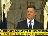 Emmanuel Macron, Najat Vallaud-Belkacem et Fleur Pellerin entrent au gouvernement Valls II