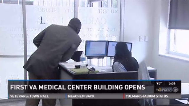 VA Medical Center Campus opens first building, looks for employees