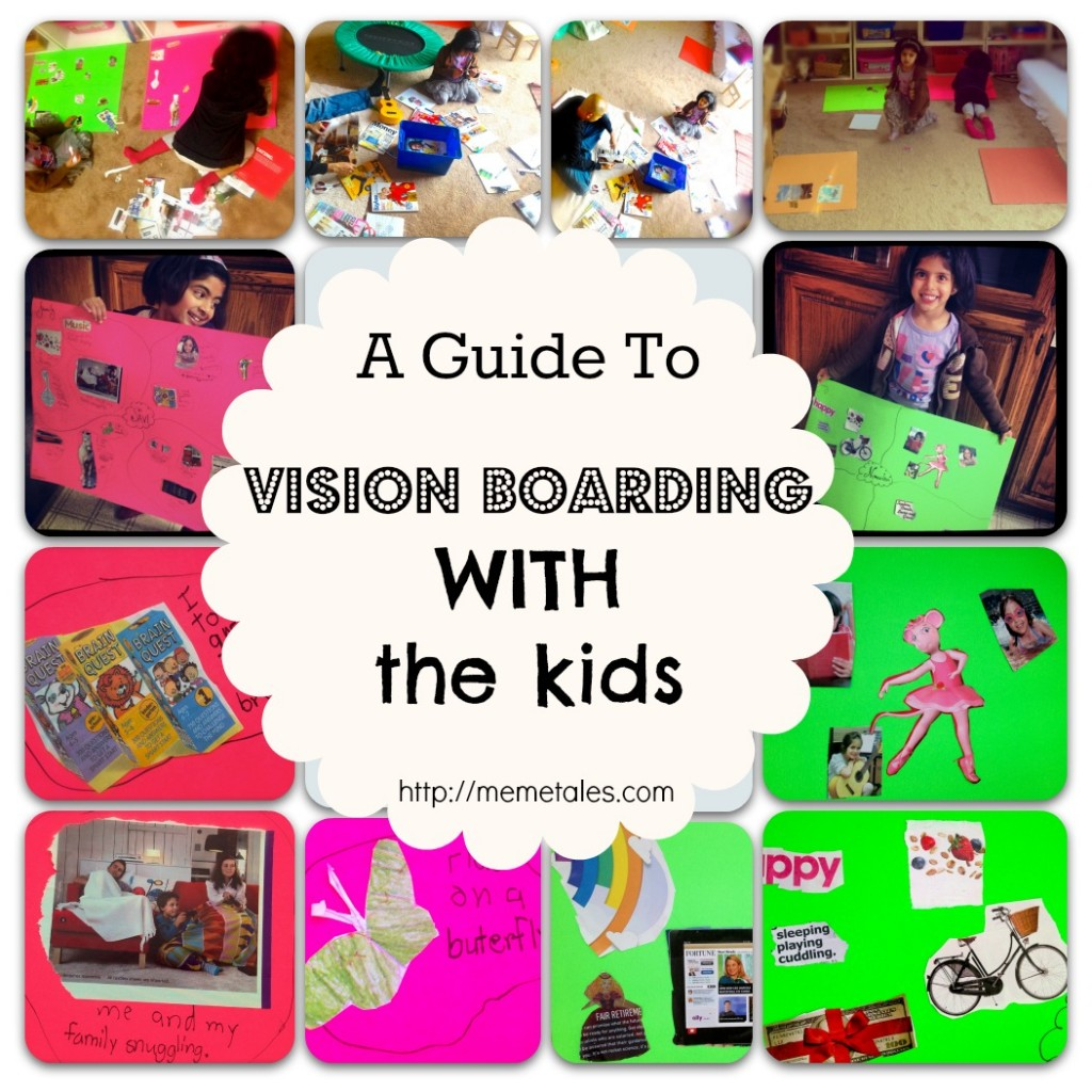 How to Vision Board with the Kids