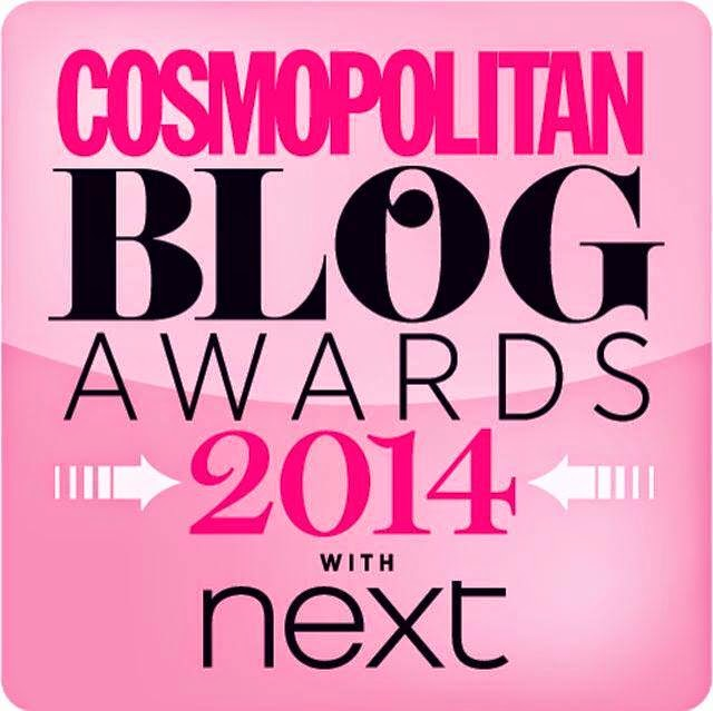 Vote for me in the 2014 Cosmo Blog Awards (please)!