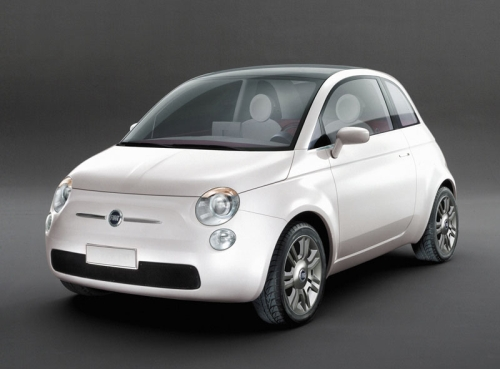 The new Fiat 500 model