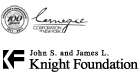 Carnegie and Knight Foundation Logos