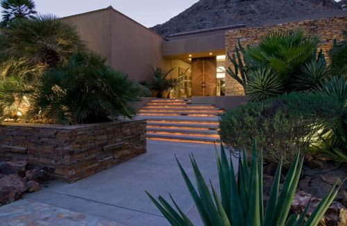 Exterior of the home purchased by baseball player Coco Crisp
