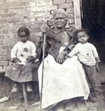 This c. 1867 photo may be of Betty and her great-grandchildren.