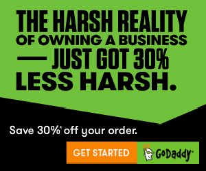 Fast-Track your website! .COM's just $8.29 CAD* with GoDaddy.com!