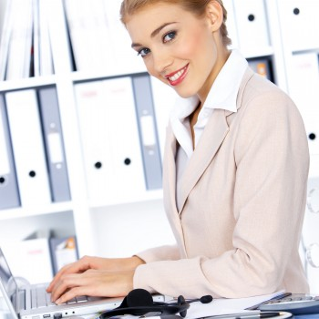 Business-Woman-Office-work