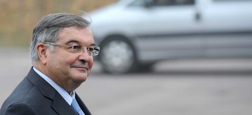 Michel Mercier, le garde des Sceaux