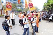 Mumbai: Shiv Sena candidate hires school kids for campaigning