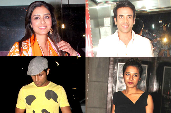 Photos: Tabu and other celebs watch 'Haider'