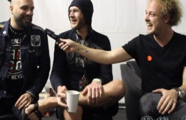 Backstage With Killswitch Engage At RAMfest