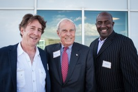 Steve Weil, left, Bruce Benson and Greg Moore. (Photo by Kent Meireis, Special to The Denver Post)