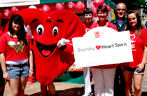 Heart Town launch in Bromley