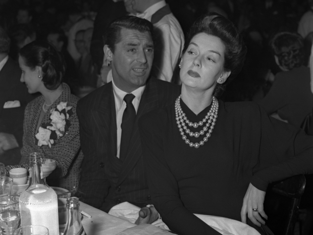 Cary Grant, Rosalind Russell