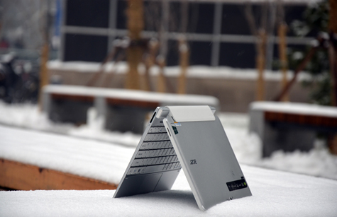 英特尔芯平板 AcerW510