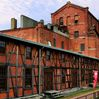 The Handa red brick building in Handa, Aichi Prefecture, was once the main plant of Kabuto Beer. It will be open to the public on Oct. 5-6, ahead of repair work that starts in next fiscal year. (Yusuke Kato)