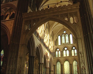 Transept, Salisbury Cathedral