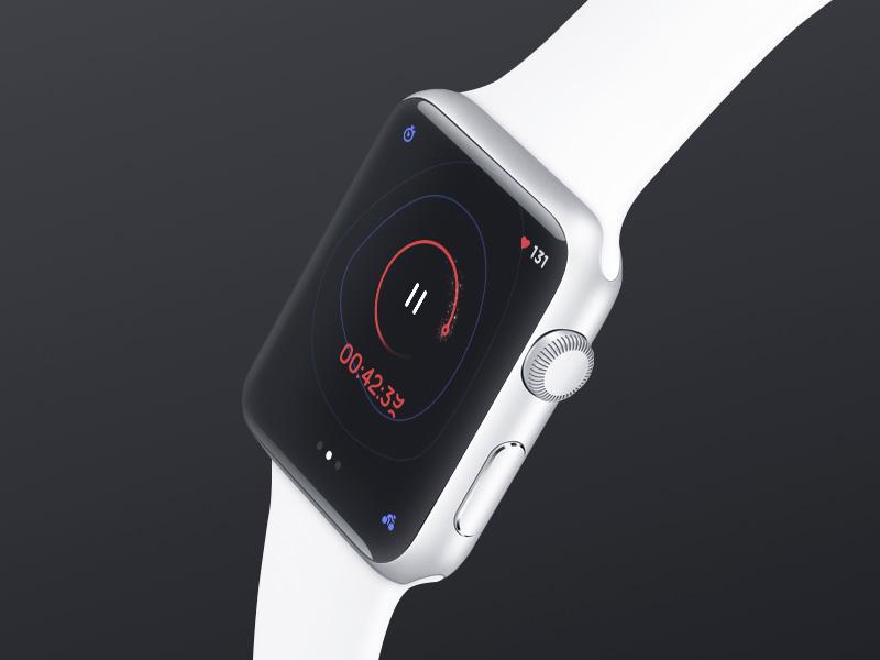 creative dash 12 sweet looking Apple Watch app designs
